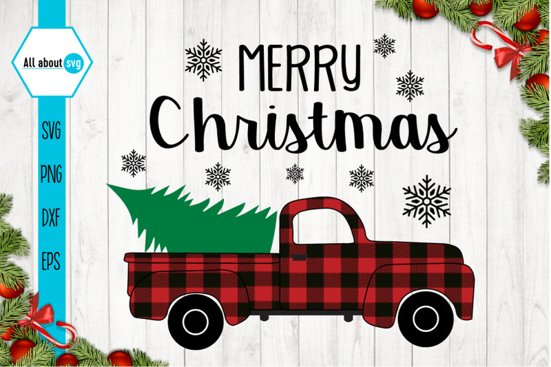 merry-christmas-red-buffalo-plaid-truck-svg