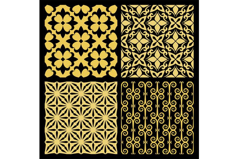 golden-spanish-traditional-kitchen-tiles