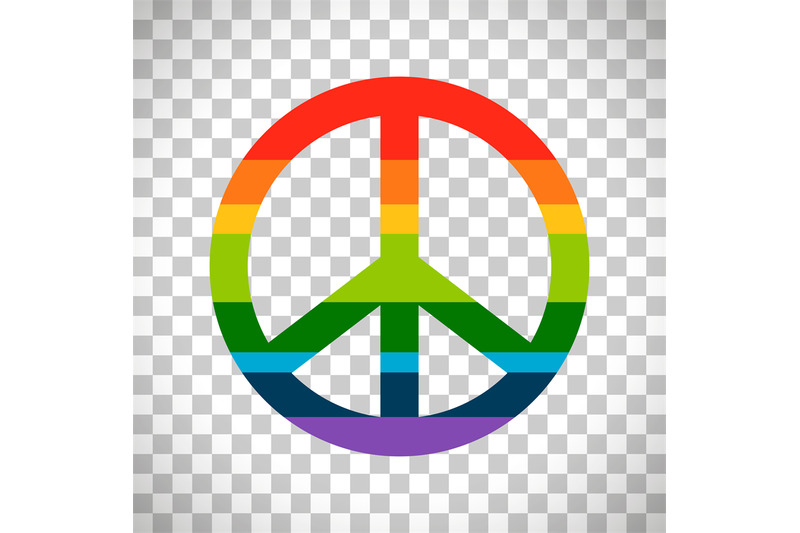 rainbow-peace-symbol-on-transparent-background