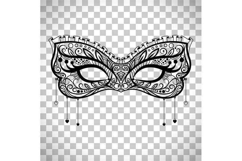 elegant-carnival-mask-on-transparent-background