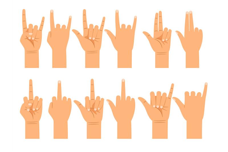 people-hand-signals-different-gestures