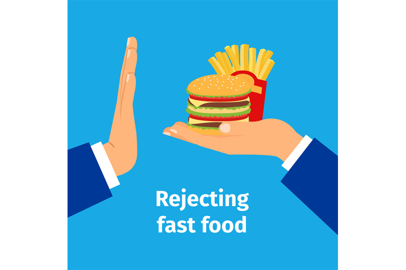 rejecting-the-offered-fast-food