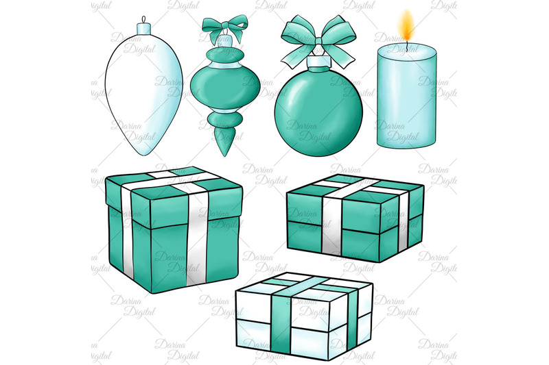 christmas-in-mint-clipart
