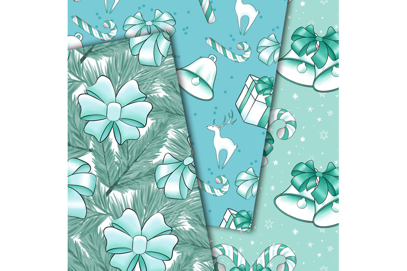 christmas-in-mint-patterns