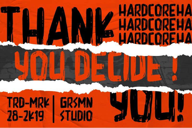 hardcore-display-font