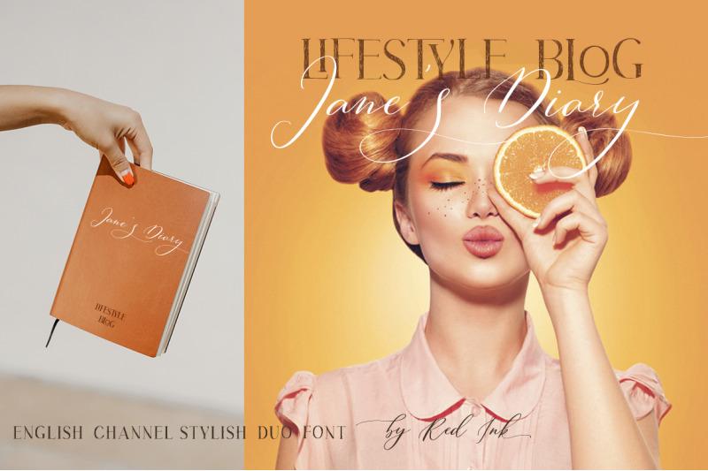 english-channel-stylish-duo-font