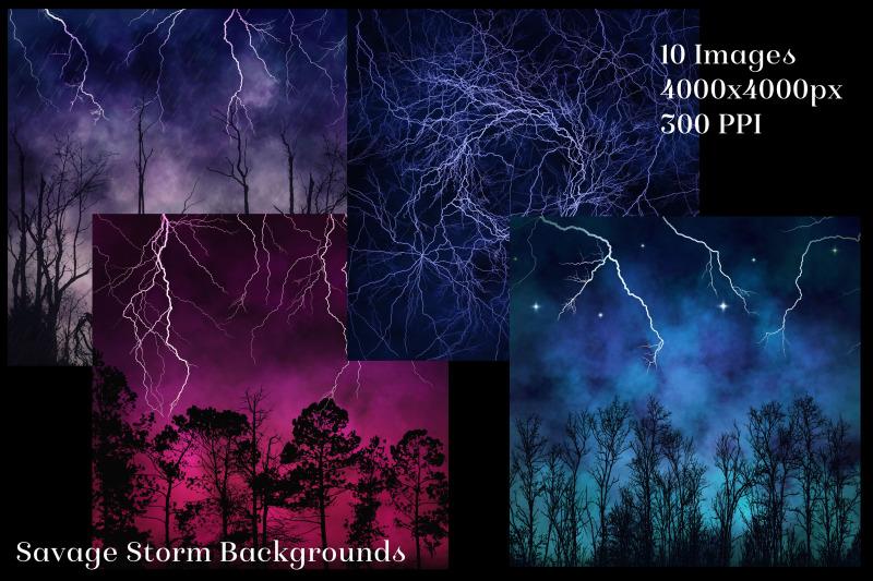 savage-storm-backgrounds-10-image-textures-set