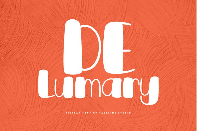 delumary-font