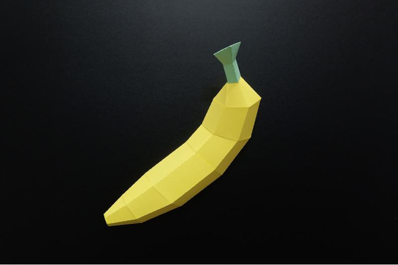 diy-banana-3d-papercraft