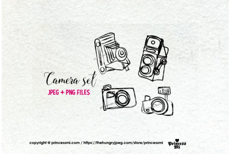 doodle-camera-clipart-set-3