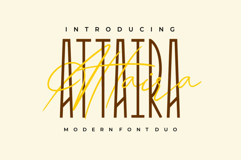 attaira-display-and-signature-font
