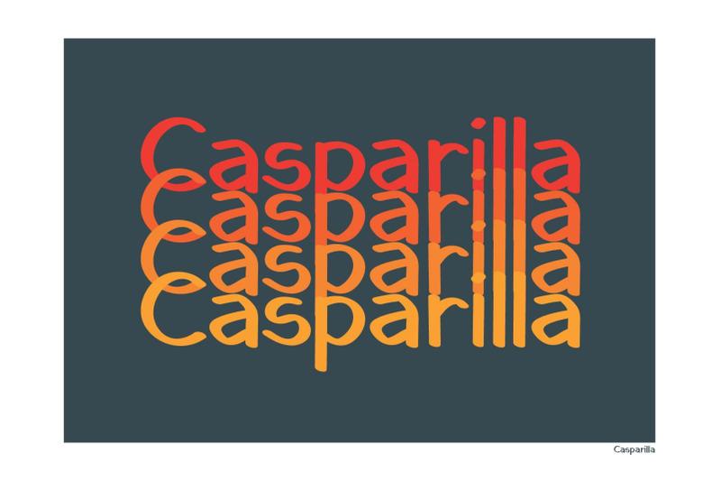 casparilla-font