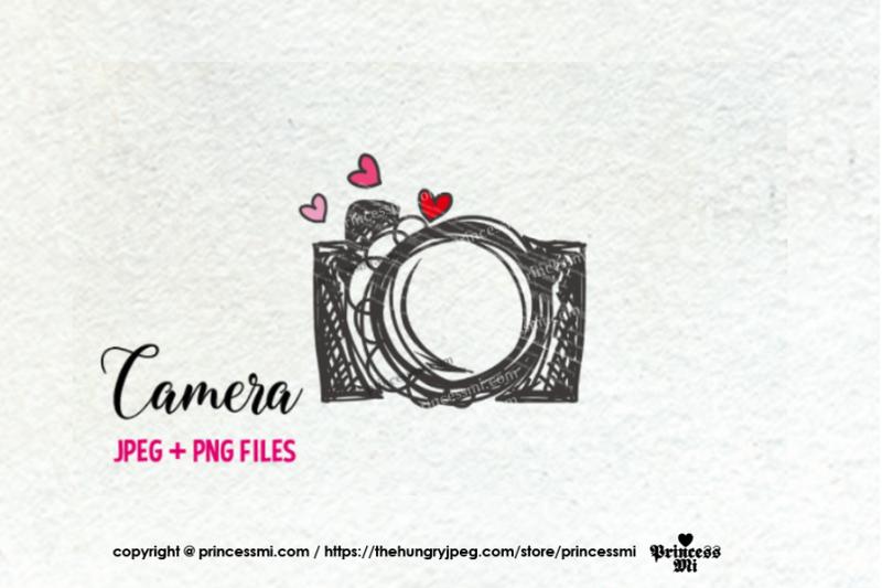 camera-clipart-hearts