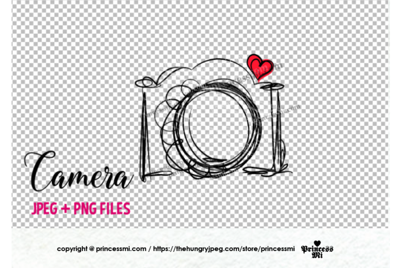 camera-clipart-red-heart