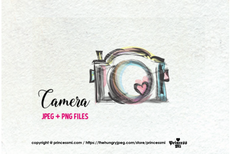 camera-clipart-whimsical-unique-with-hearts