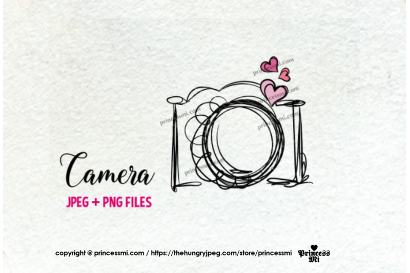 camera-clipart-three-little-hearts