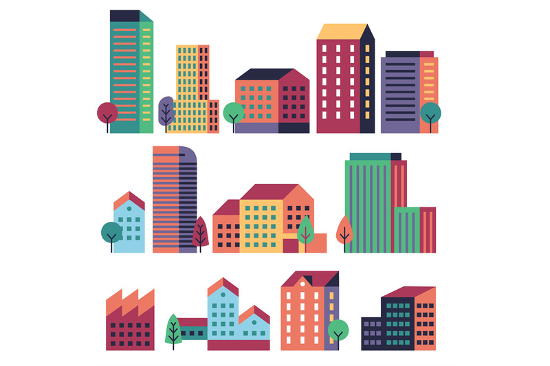 minimal-buildings-city-skyline-geometric-urban-landscape-elements-fo