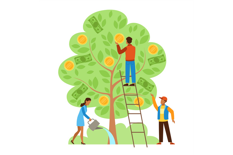 money-tree-characters-picking-cash-from-money-tree-income-growing-me