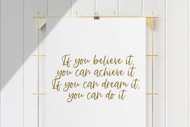 ambition-handwritten-script-font