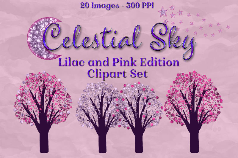 celestial-sky-lilac-and-pink-edition-clipart