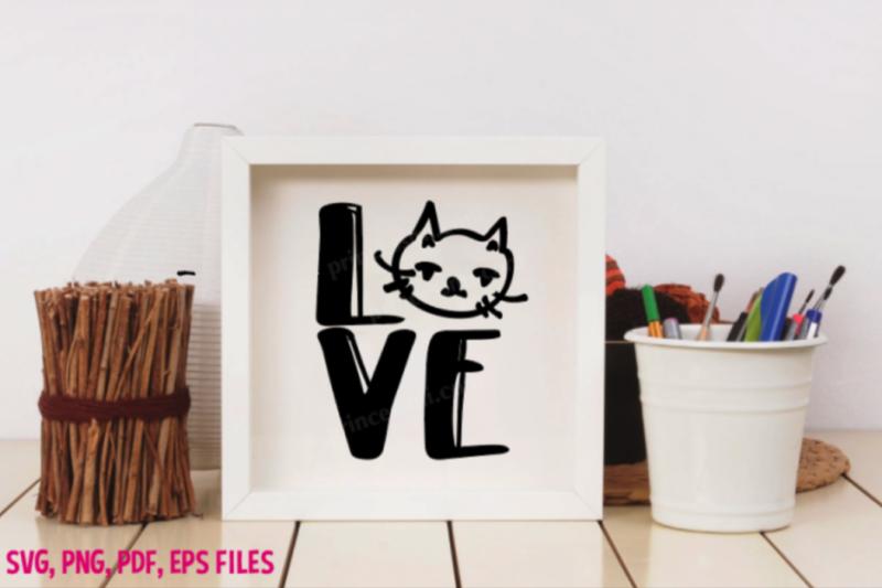 love-cat-set-svg-eps-png-file