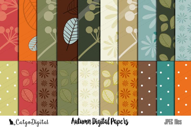 autumn-digital-papers-scrapbooking-paper-pack
