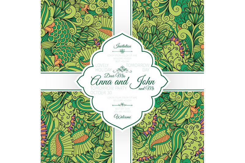 green-leaves-and-swirls-pattern-card