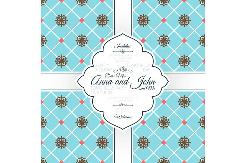 vintage-blue-spanish-pattern-card