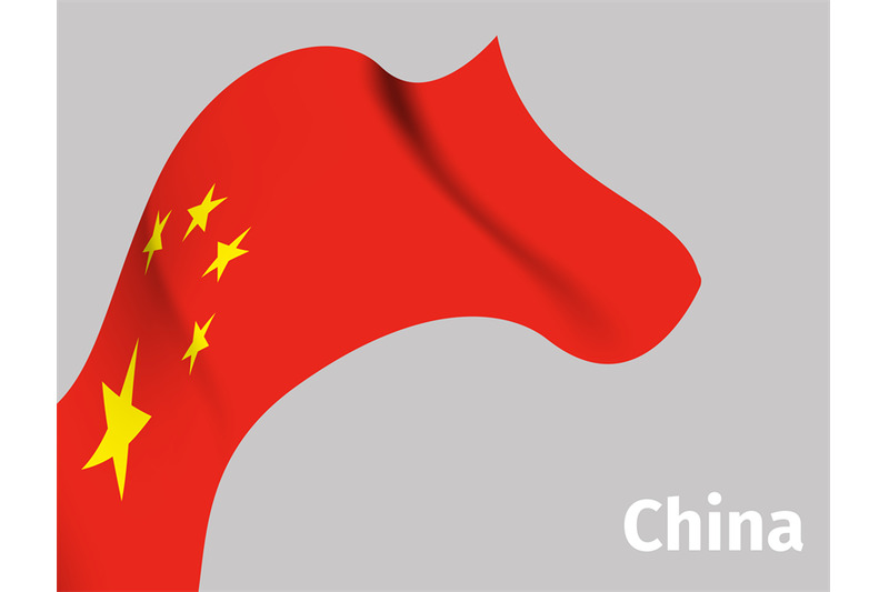 background-with-china-wavy-flag