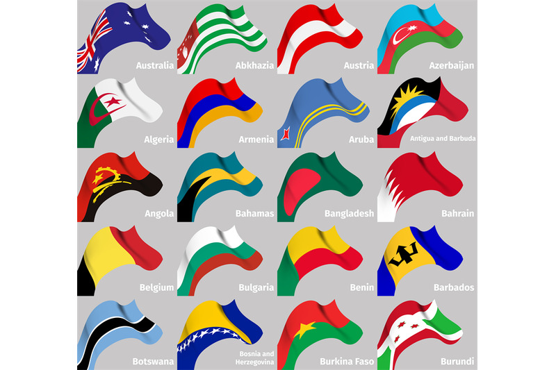 background-set-with-world-wavy-flags