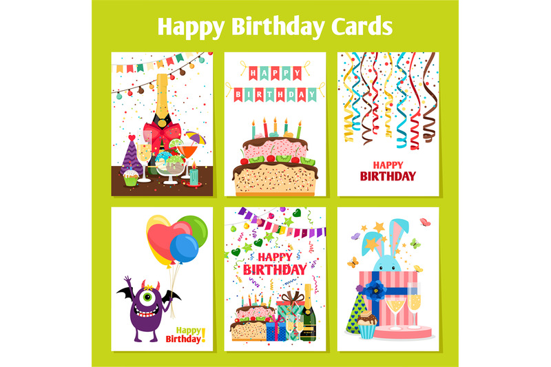 birthday-cards-set
