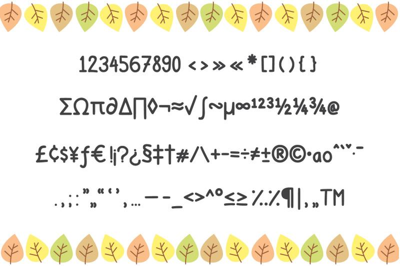 gomgom-handwriting-font