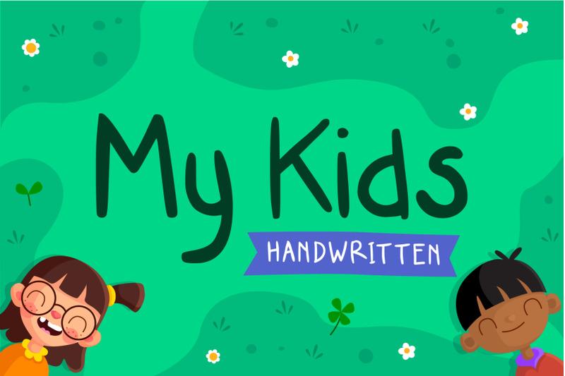 my-kids-handwritten-font
