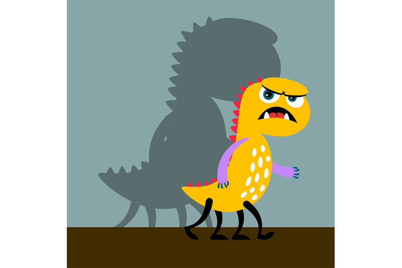 angry-yellow-monster-with-shadow