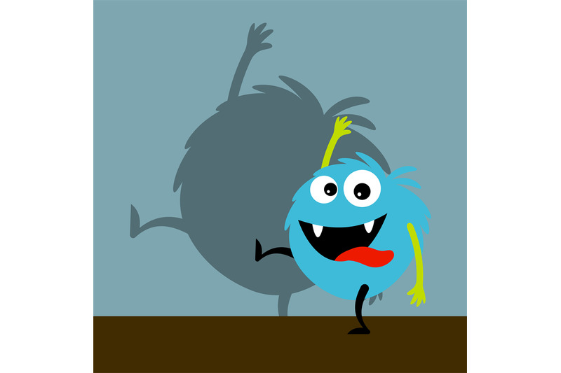 blue-happy-monster-with-shadow