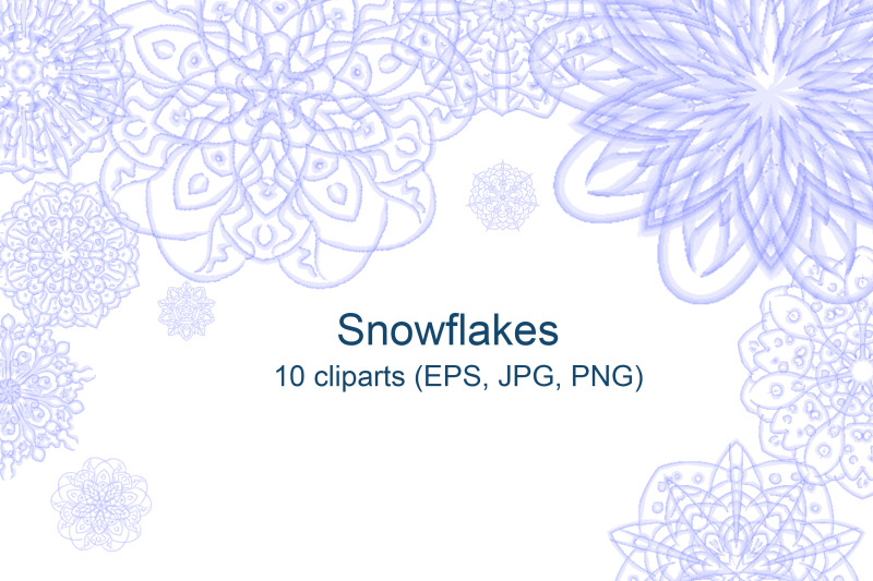 snowflakes-vector-illustration