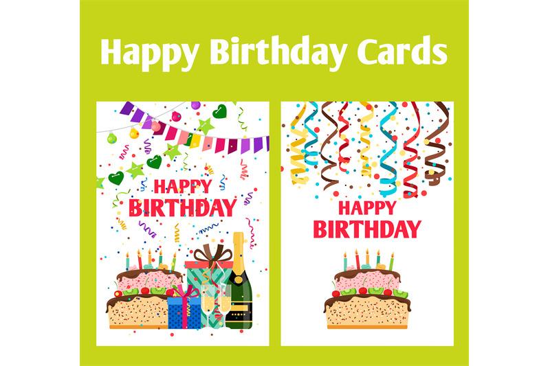 birthday-greeting-cards-set