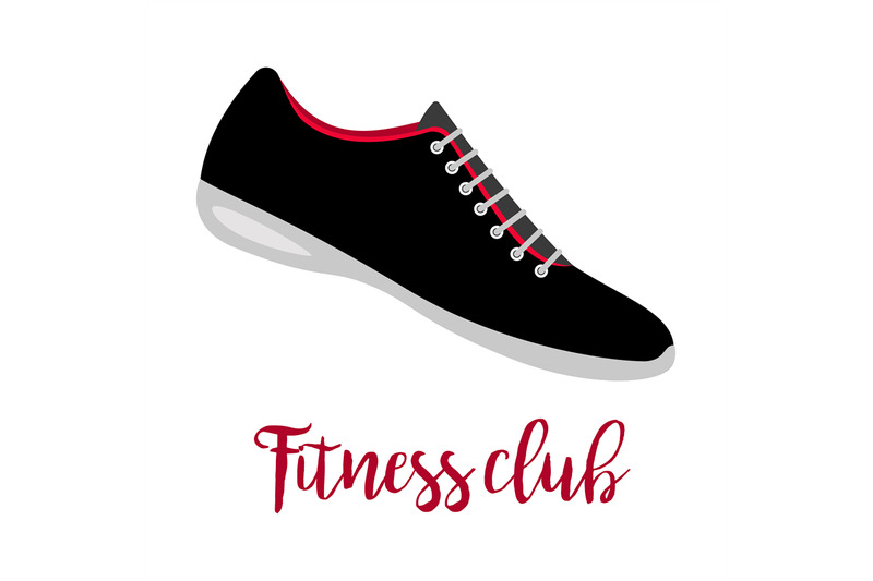 shoes-with-text-fitness-club