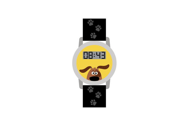 blue-digital-kids-watch-with-dog
