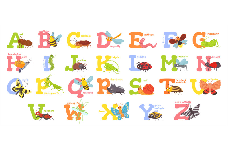 cartoon-insects-alphabet-funny-bug-letters-comic-insect-abc-for-kids