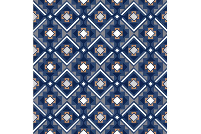 decorative-geometric-pattern-in-blue