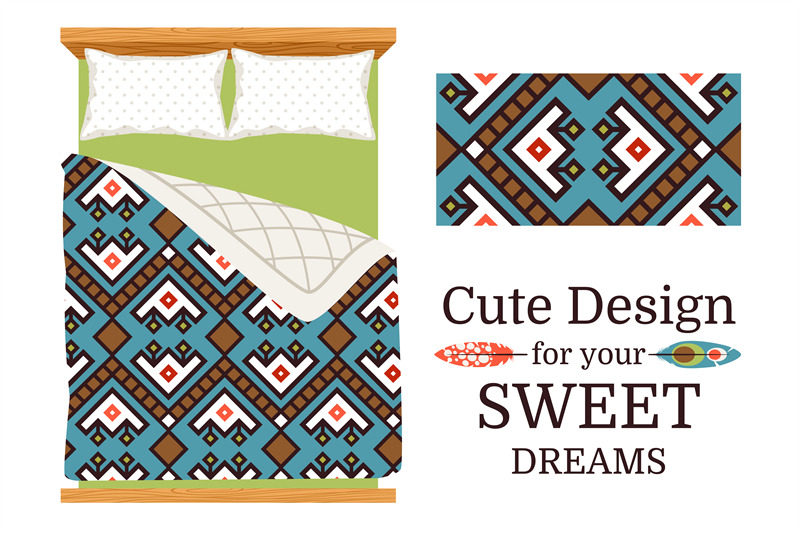 decorative-ornamental-pattern-for-bed-sheets