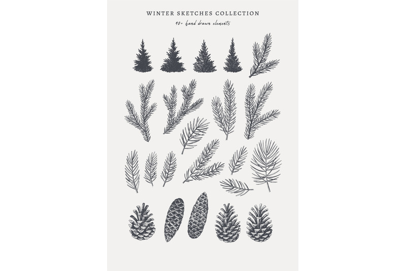 winter-sketches-collection