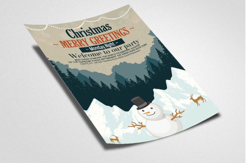 christmas-greeting-flyer-template