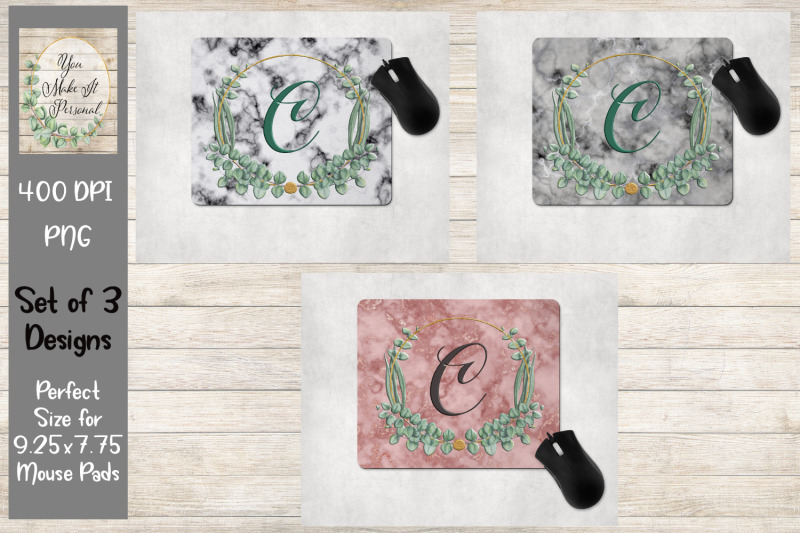 marble-background-with-herbal-frame-mouse-pad-bundle