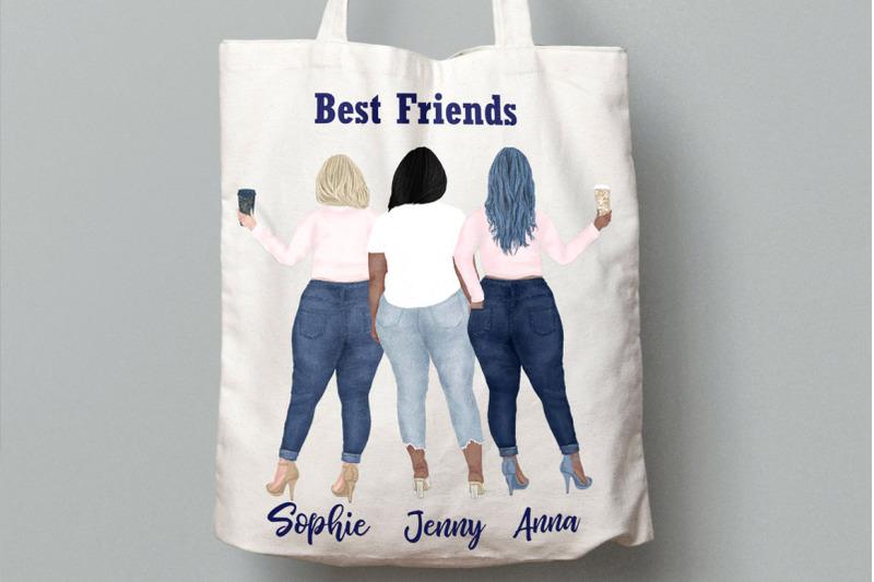 curvy-girls-plus-size-girls-clipart-best-friends-clipart