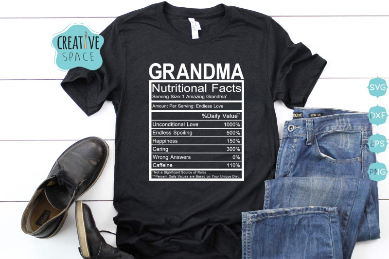 grandma-nutritional-facts