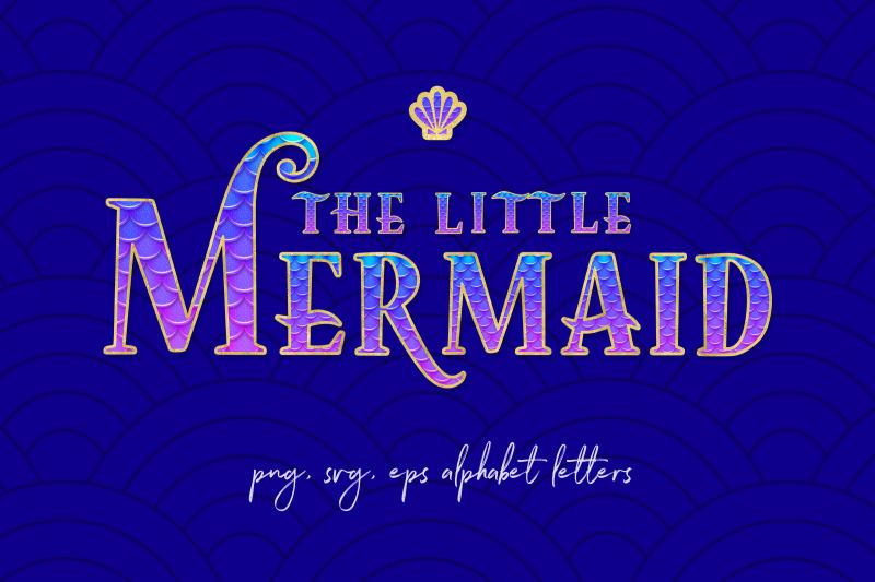 little-mermaid-font-letters