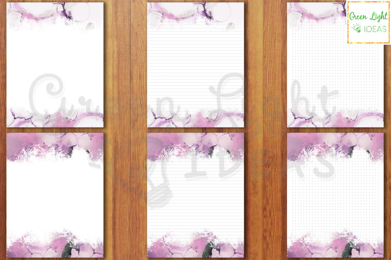purple-marble-printable-stationery-paper-writing-paper-journal-pages
