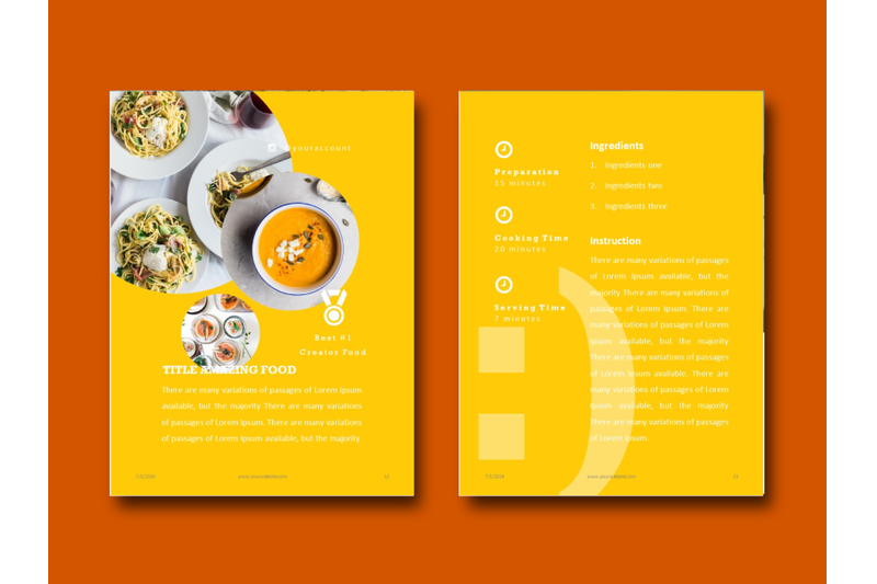 recipe-food-presentation-keynote-template